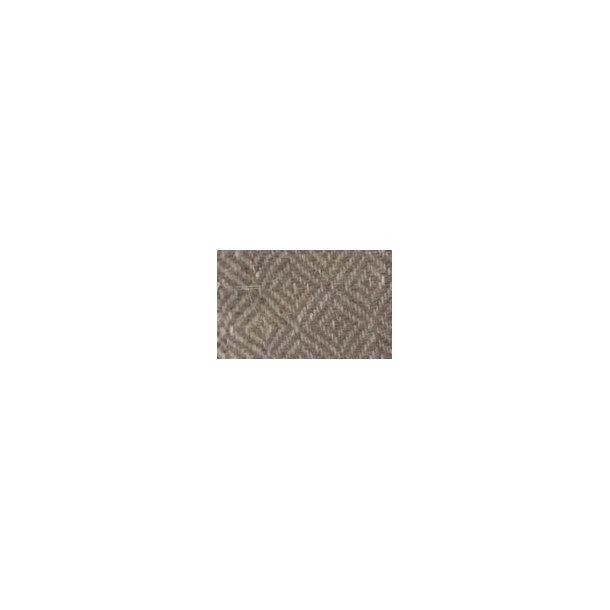 U202-285 Gråbeige diamantkipervævet