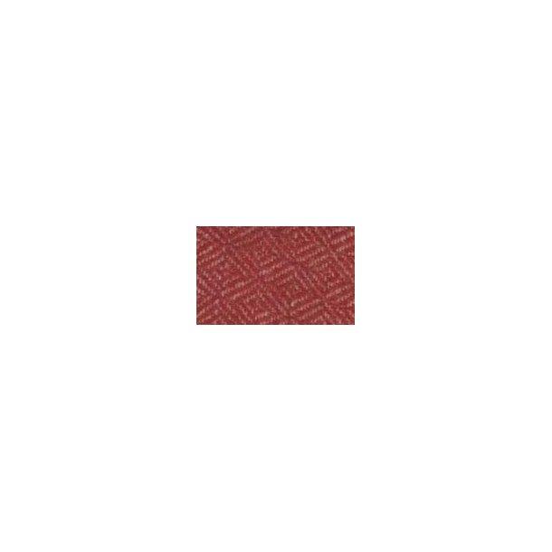 U 202-252 Krapfarvet diamantkipervævet